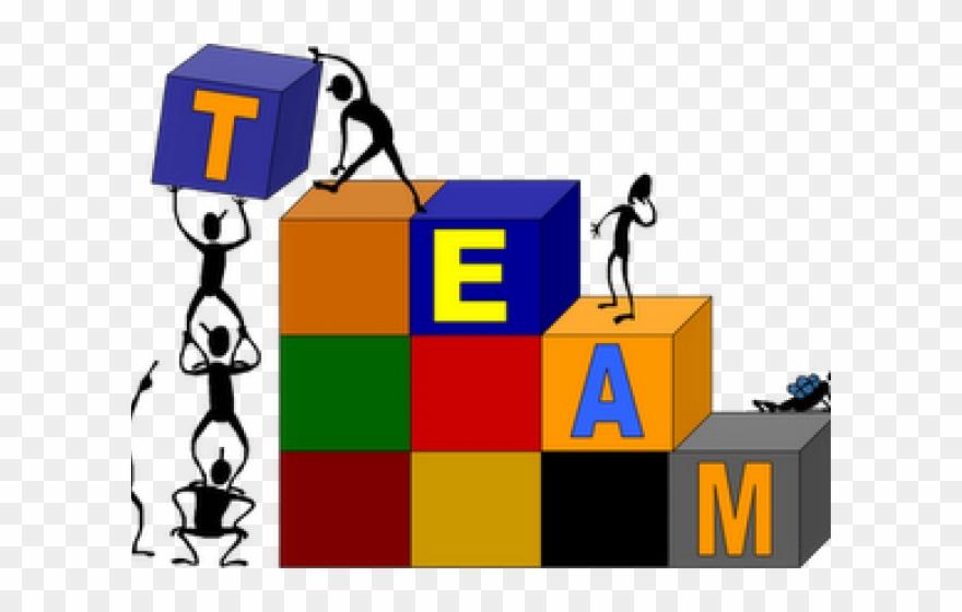 Teamwork clipart team challenge. Building fun clip art