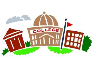 Becoming an artist hours. Buildings clipart university