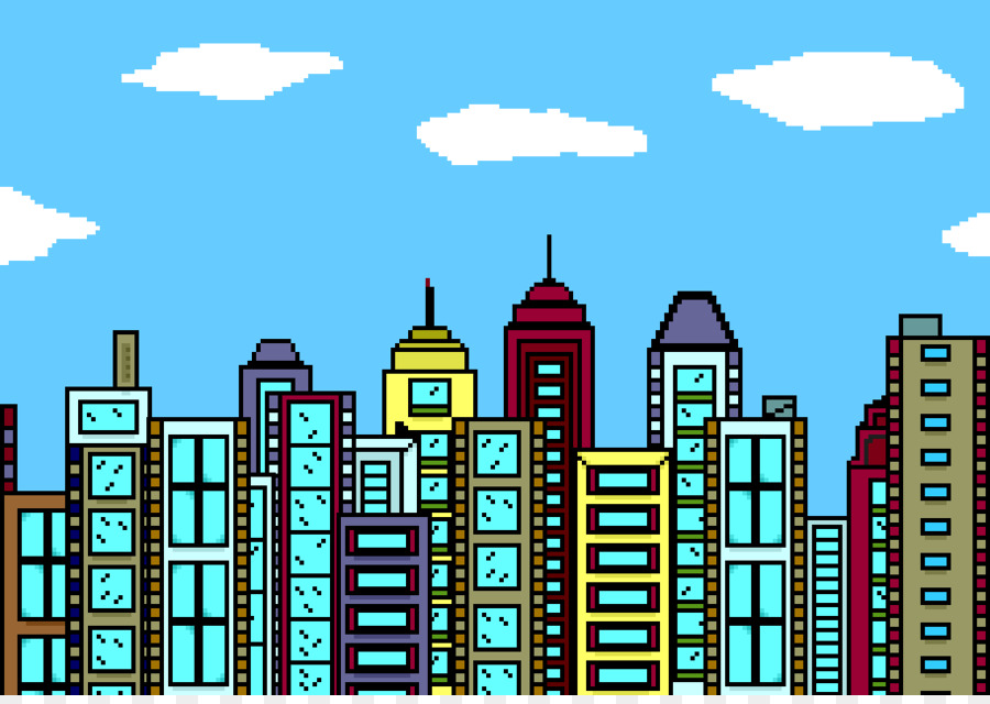 Buildings clipart. Cities skylines new york