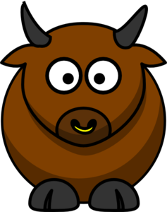 Bull clipart. Clip art at clker