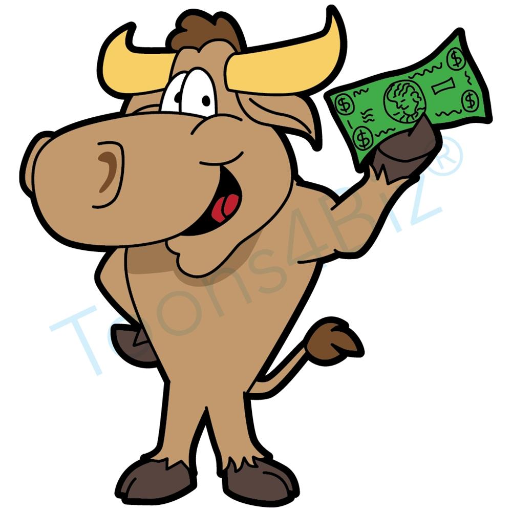 Mascot clip art holding. Bull clipart baseball