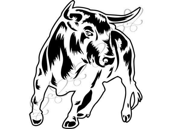 Bull clipart beast. Animal strong wild cow