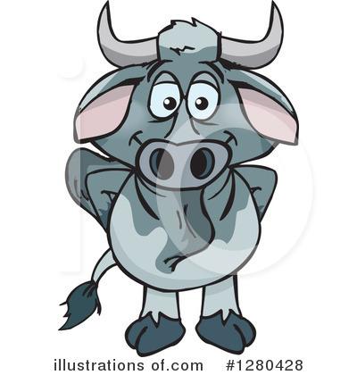 Cattle clipart brahma bull. Brahman illustration by dennis