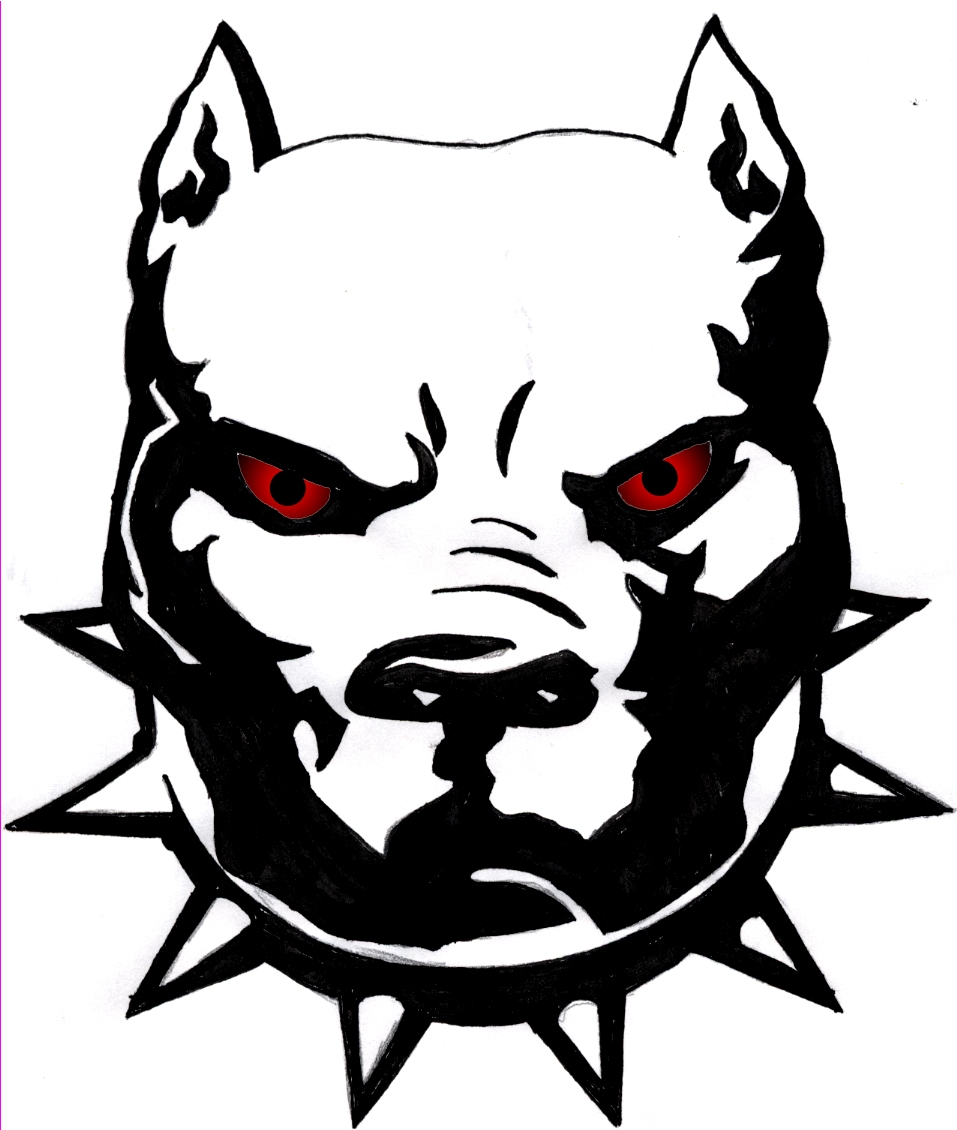 collection of pit. Bull clipart bull face