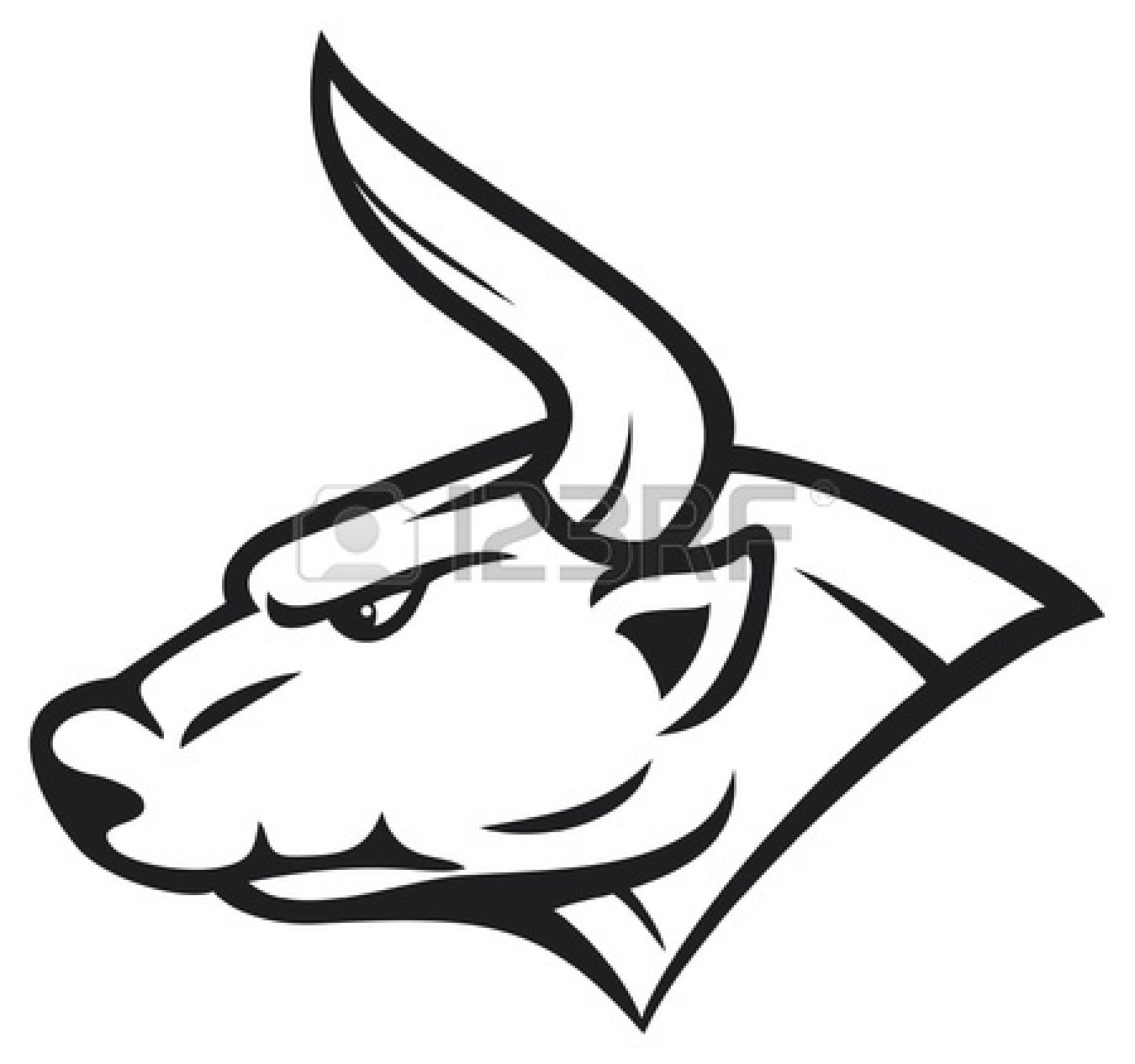 Bull clipart bull head. Steer free download best