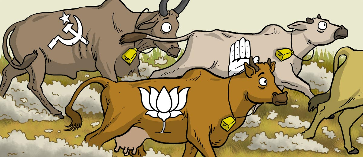 Running with the bulls. Cattle clipart cow indian