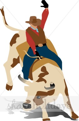 Bull clipart bull rider. Party backgrounds