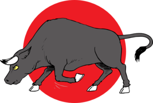 Bull clipart charge. Preparing to clip art
