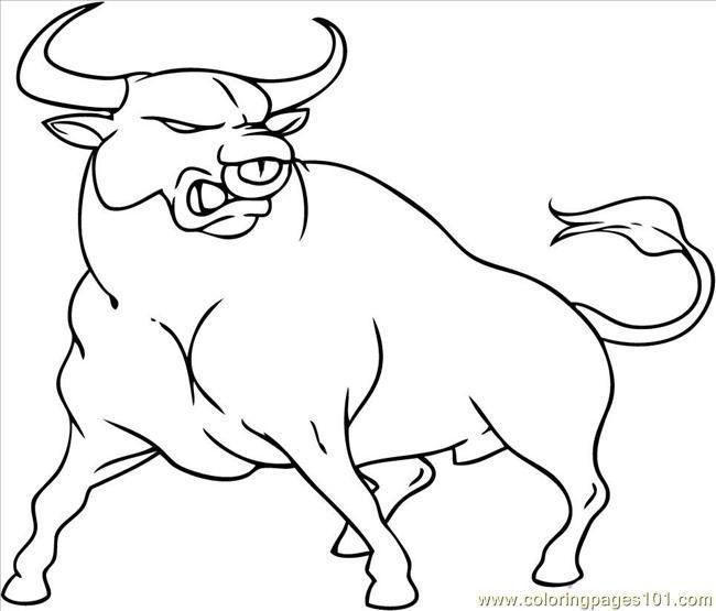 Rodeo Bull Riding Coloring Pages - Get Coloring Pages | 555x650