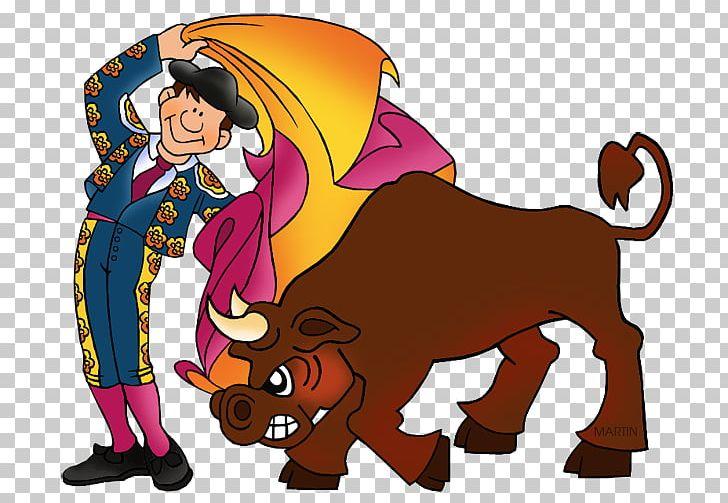 Fighting bull a matador. Ox clipart bullfighting spanish
