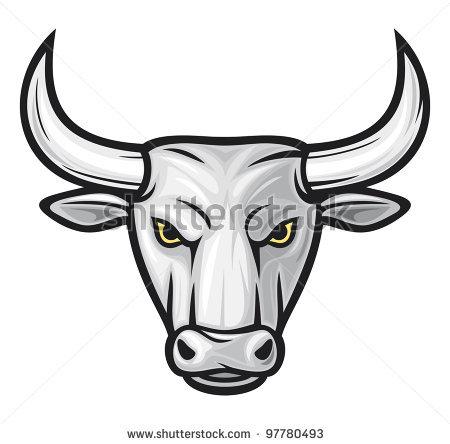 Bull clipart minotaur. Drawn bulls head pencil