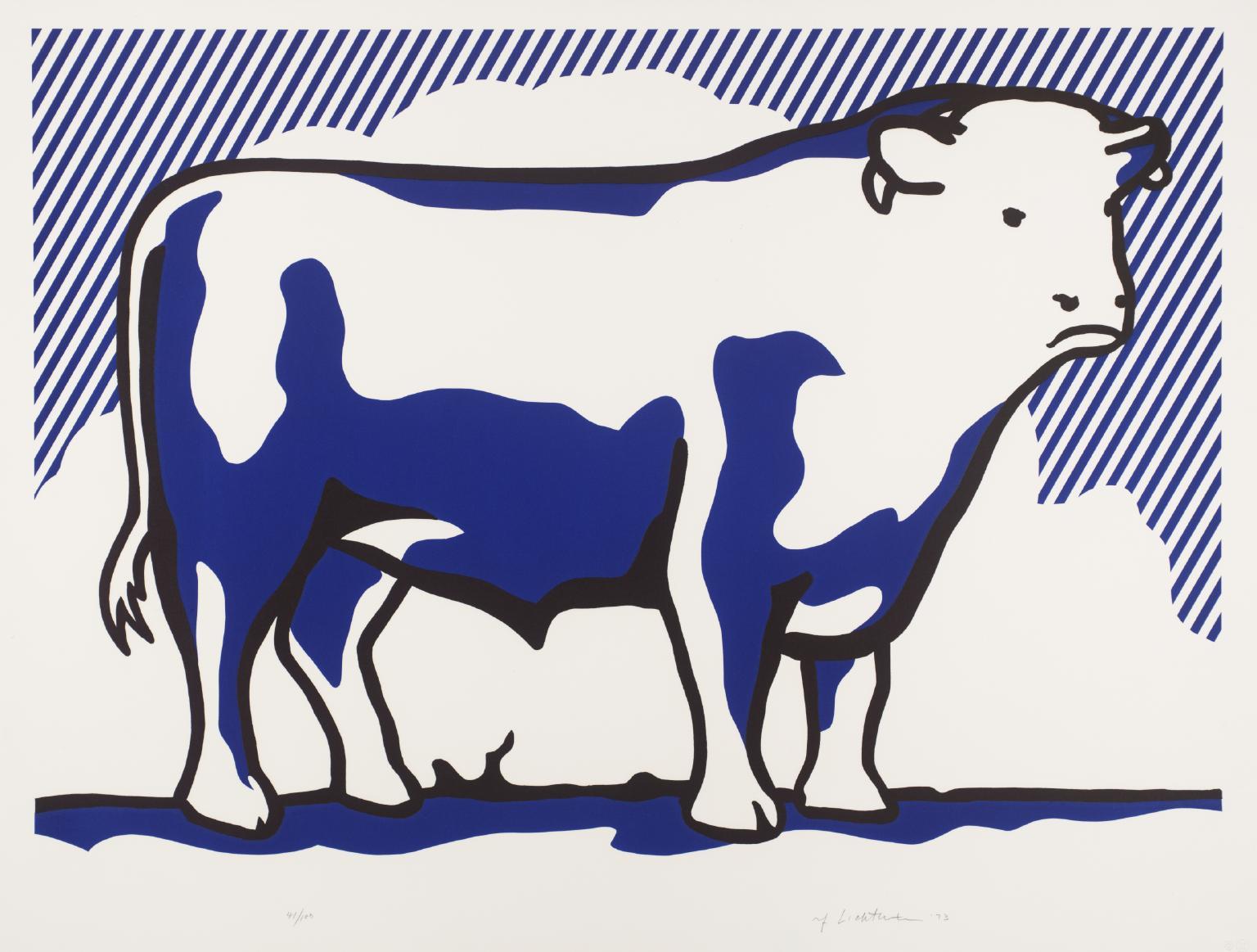 Ii roy lichtenstein tate. Bull clipart profile