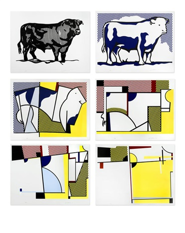 Series works by roy. Bull clipart profile