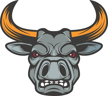Team premium clipartlogo com. Bull clipart sport