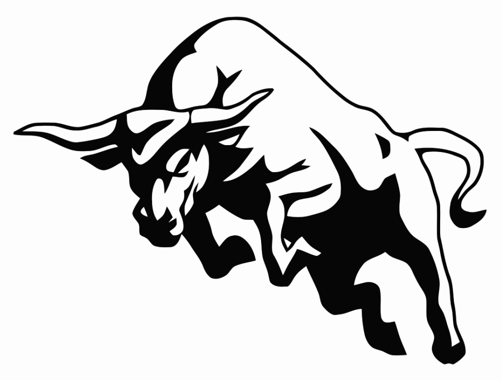 Charge pinteres more. Bull clipart stencil
