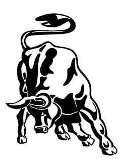 Best tattoo ideas for. Bull clipart stencil