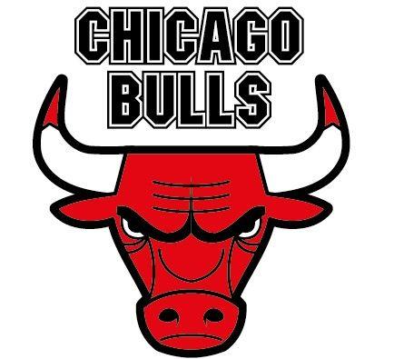Nba chicago bulls logo. Bull clipart symbol