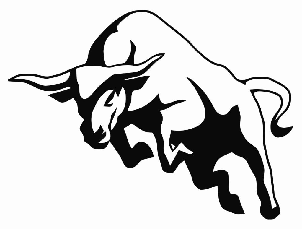 Bull clipart symbol. Posted image bulls pinterest