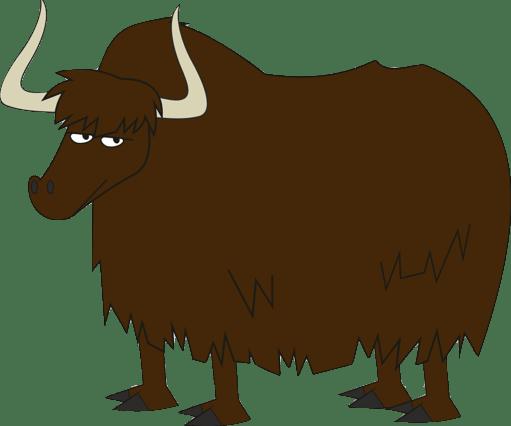 ox clipart yak
