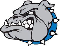 Bulldog clipart. Head logo best reace