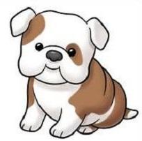 Bulldog clipart american bulldog. Free cliparts download clip