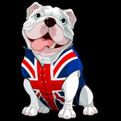 Bulldogs and boxers dog. Bulldog clipart animated