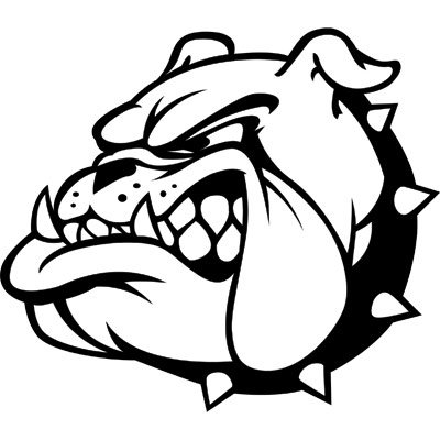 Free pictures clipartix . Bulldog clipart black and white