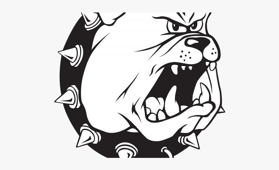 Ferris state university . Bulldog clipart black and white