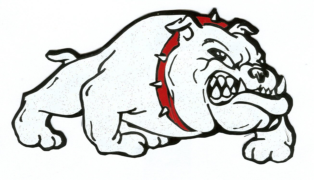 Bulldog clipart coloring page. Collection of free download