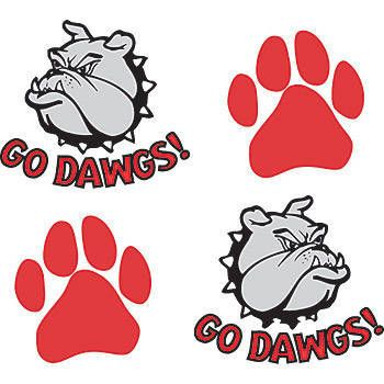 best pawprints images. Bulldog clipart foot