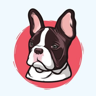 Bulldog clipart french bulldog. Boshton pinterest