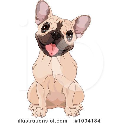 Illustration by pushkin royaltyfree. Bulldog clipart french bulldog