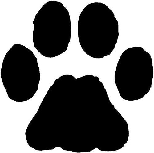 Pawprint clipart logo. Dog paw print wikiclipart