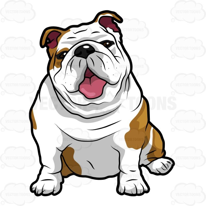 Cute drawing at getdrawings. Bulldog clipart pet