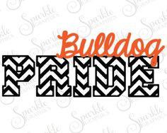Bulldog clipart pride. Vector stock illustration royalty