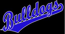Team bulldogs script logo. Bulldog clipart pride