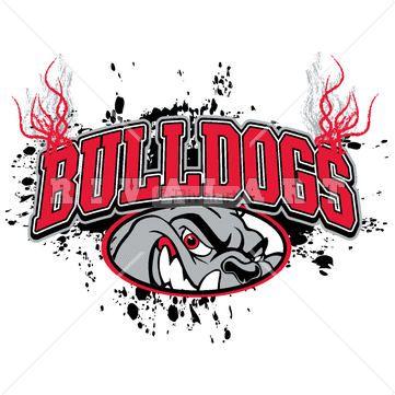 collection of mascot. Bulldog clipart pride