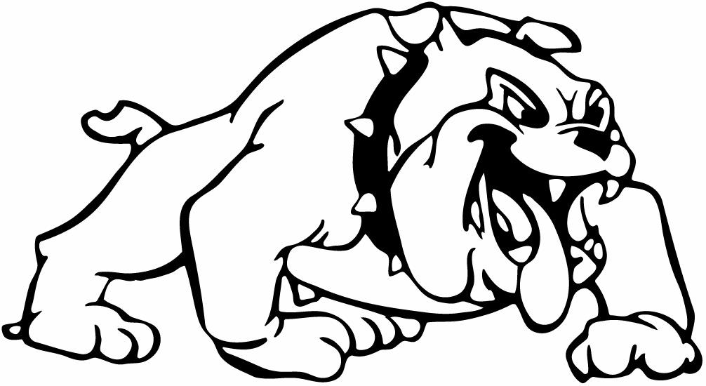 Bulldog clipart sketch. Drawing easy at getdrawings