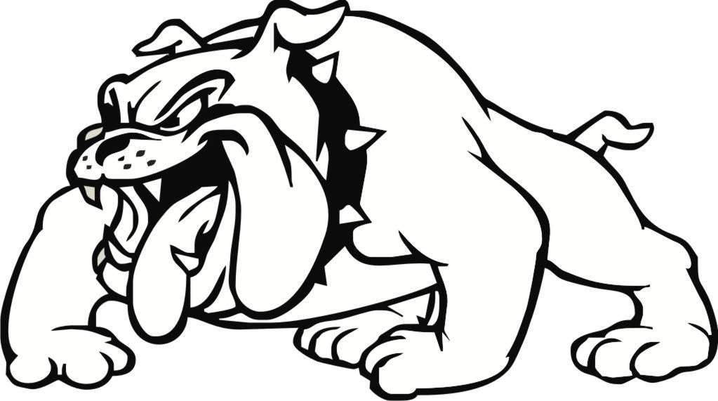 Drawing easy at getdrawings. Bulldog clipart sketch