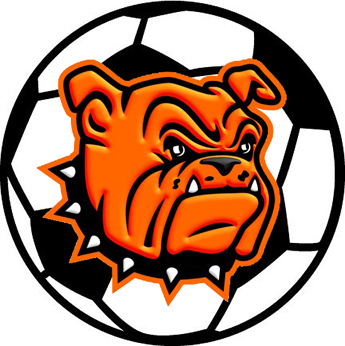 Time for another milestone. Bulldog clipart soccer