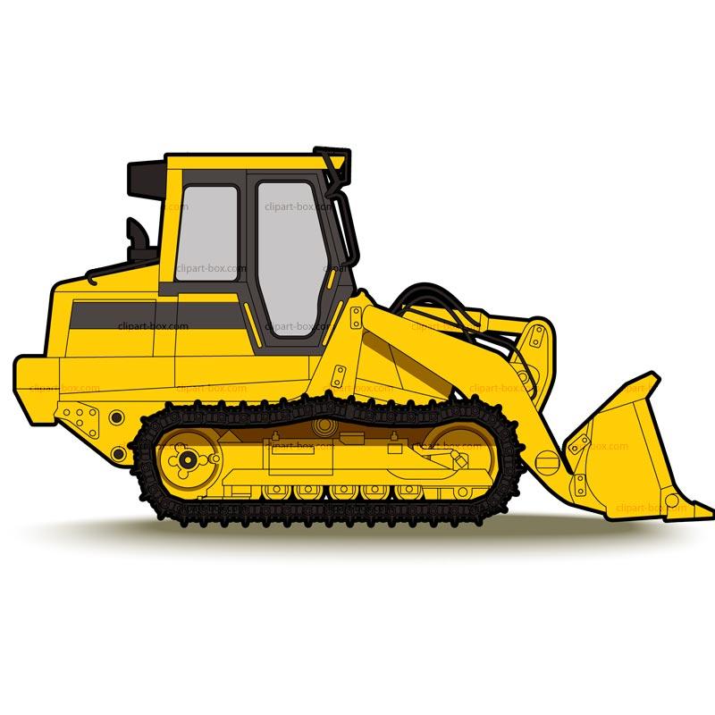 Bulldozer clipart animated, Bulldozer animated Transparent ...
