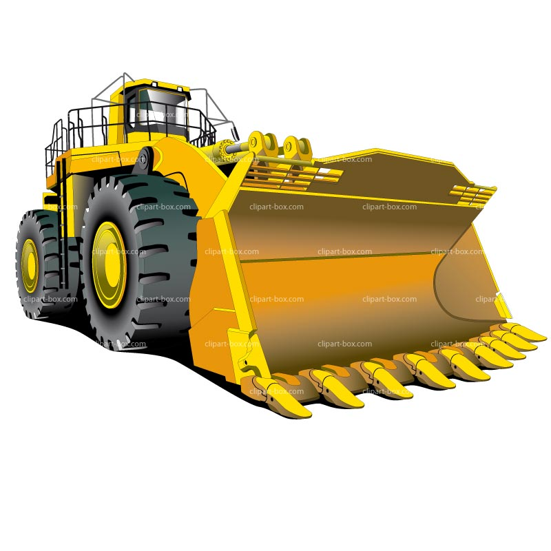 Bulldozer - Black Bulldozer Png , Free Transparent Clipart - ClipartKey