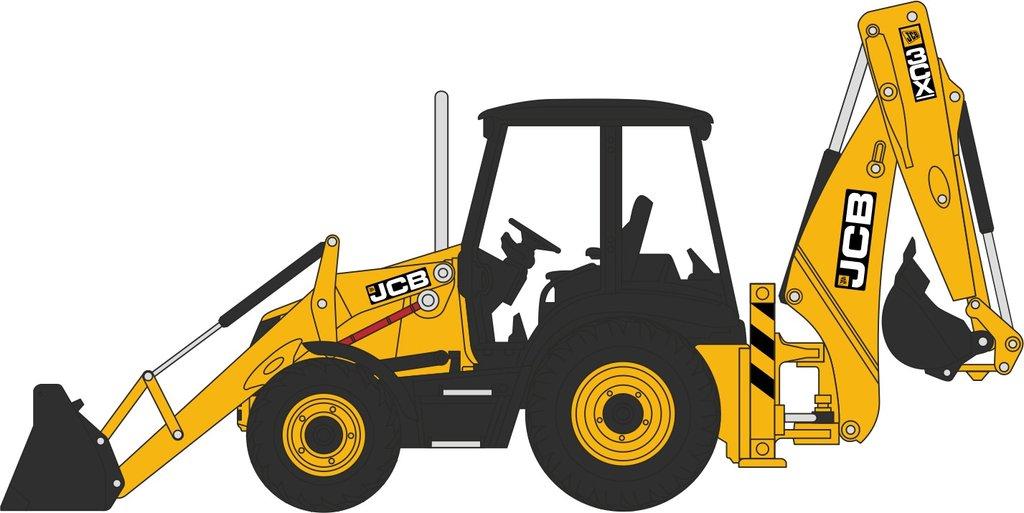 Excavator clipart digger jcb. Station