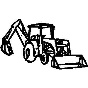 de ff c. Bulldozer clipart earth mover