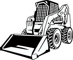Bulldozer clipart earth mover. Heavy equipment vector clip