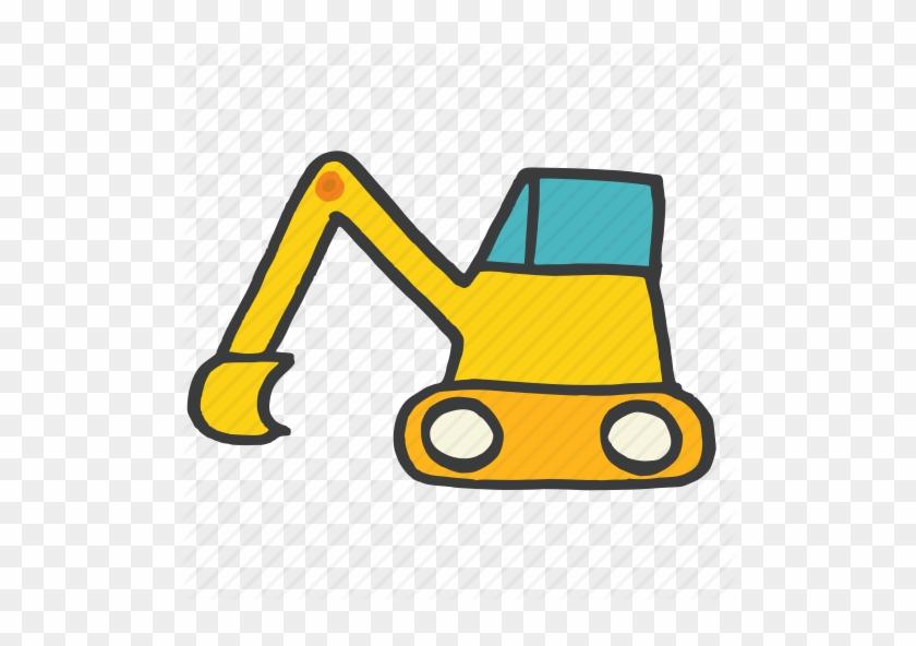 Bulldozer clipart earth mover. Stock
