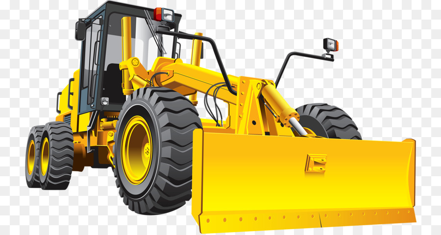 Backhoe clipart heavy equipment. Grader road bulldozer clip