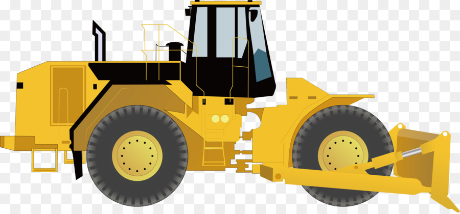 Loader excavator tractor municipal. Backhoe clipart heavy equipment