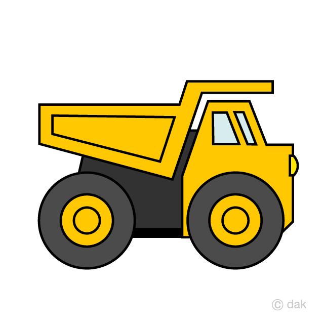 Excavator clipart simple. Off road dump truck