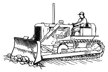 Bulldozer sketch